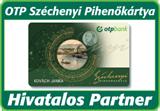 OTP Széchenyi Pihenőkártya hivatalos partner